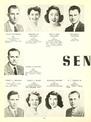 Page 16, 1949 Edition, Eastern Kentucky University - Milestone Yearbook (Richmond, KY) online yearbook collection
