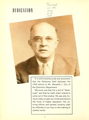 Page 8, 1949 Edition, Eastern Kentucky University - Milestone Yearbook (Richmond, KY) online yearbook collection