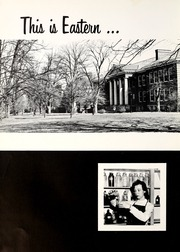Page 10, 1958 Edition, Eastern Kentucky University - Milestone Yearbook (Richmond, KY) online yearbook collection