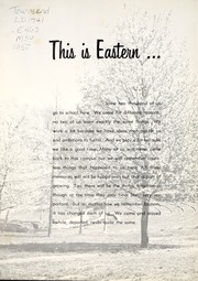 Page 6, 1958 Edition, Eastern Kentucky University - Milestone Yearbook (Richmond, KY) online yearbook collection