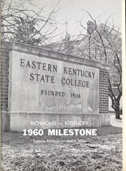 Page 5, 1960 Edition, Eastern Kentucky University - Milestone Yearbook (Richmond, KY) online yearbook collection