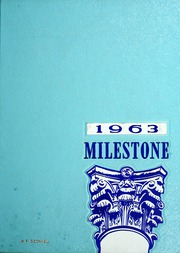 Page 1, 1963 Edition, Eastern Kentucky University - Milestone Yearbook (Richmond, KY) online yearbook collection