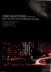 Page 17, 1968 Edition, Eastern Kentucky University - Milestone Yearbook (Richmond, KY) online yearbook collection