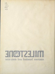 Page 6, 1969 Edition, Eastern Kentucky University - Milestone Yearbook (Richmond, KY) online yearbook collection