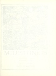 Page 5, 1975 Edition, Eastern Kentucky University - Milestone Yearbook (Richmond, KY) online yearbook collection