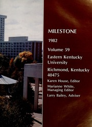 Page 7, 1982 Edition, Eastern Kentucky University - Milestone Yearbook (Richmond, KY) online yearbook collection