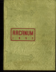 1953 Edition, Millard Fillmore Hospital School of Nursing - Arcanum Yearbook (Buffalo, NY)