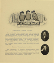 Page 13, 1906 Edition, Adelphi University - Oracle Yearbook (Garden City, NY) online yearbook collection