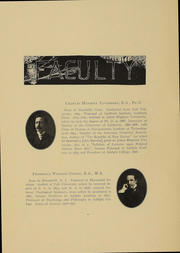 Page 11, 1908 Edition, Adelphi University - Oracle Yearbook (Garden City, NY) online yearbook collection