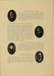 Page 13, 1908 Edition, Adelphi University - Oracle Yearbook (Garden City, NY) online yearbook collection