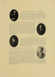 Page 14, 1908 Edition, Adelphi University - Oracle Yearbook (Garden City, NY) online yearbook collection