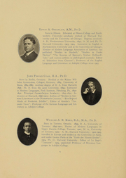 Page 15, 1908 Edition, Adelphi University - Oracle Yearbook (Garden City, NY) online yearbook collection