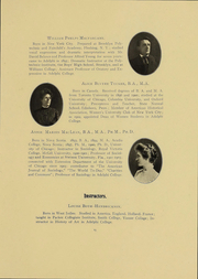 Page 16, 1908 Edition, Adelphi University - Oracle Yearbook (Garden City, NY) online yearbook collection