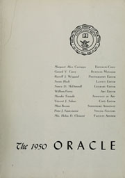 Page 7, 1950 Edition, Adelphi University - Oracle Yearbook (Garden City, NY) online yearbook collection