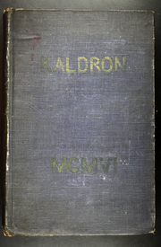 Allegheny College - Kaldron Yearbook (Meadville, PA) online yearbook collection, 1906 Edition, Page 1