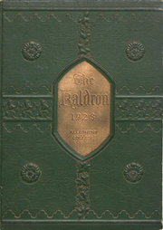 Allegheny College - Kaldron Yearbook (Meadville, PA) online yearbook collection, 1928 Edition, Page 1
