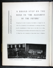 Page 10, 1941 Edition, Allegheny College - Kaldron Yearbook (Meadville, PA) online yearbook collection