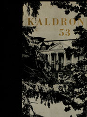 Allegheny College - Kaldron Yearbook (Meadville, PA) online yearbook collection, 1953 Edition, Page 1