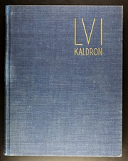 Allegheny College - Kaldron Yearbook (Meadville, PA) online yearbook collection, 1956 Edition, Page 1