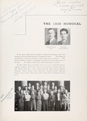 Page 9, 1938 Edition, California University of Pennsylvania - Monocal Yearbook (California, PA) online yearbook collection
