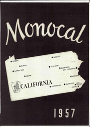 Page 1, 1957 Edition, California University of Pennsylvania - Monocal Yearbook (California, PA) online yearbook collection
