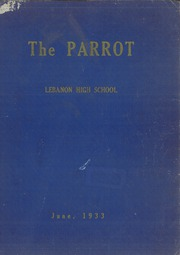 1933 Edition, Lebanon High School - Parrot Yearbook (Lebanon, NH)