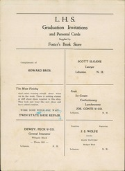 Page 4, 1933 Edition, Lebanon High School - Parrot Yearbook (Lebanon, NH) online yearbook collection