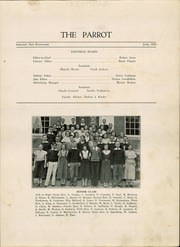 Page 7, 1933 Edition, Lebanon High School - Parrot Yearbook (Lebanon, NH) online yearbook collection