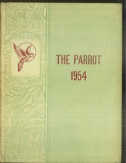 1954 Edition, Lebanon High School - Parrot Yearbook (Lebanon, NH)