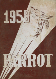 1958 Edition, Lebanon High School - Parrot Yearbook (Lebanon, NH)