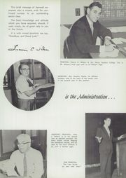 Page 9, 1958 Edition, Lebanon High School - Parrot Yearbook (Lebanon, NH) online yearbook collection