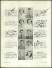 Page 12, 1949 Edition, Manchester West High School - Thesaurus Yearbook (Manchester, NH) online yearbook collection