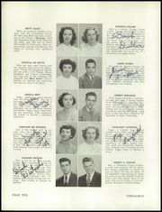 Page 14, 1949 Edition, Manchester West High School - Thesaurus Yearbook (Manchester, NH) online yearbook collection
