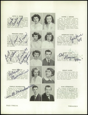 Page 16, 1949 Edition, Manchester West High School - Thesaurus Yearbook (Manchester, NH) online yearbook collection