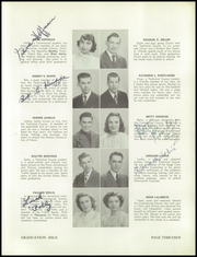 Page 17, 1949 Edition, Manchester West High School - Thesaurus Yearbook (Manchester, NH) online yearbook collection