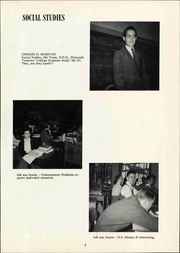 Page 11, 1960 Edition, New London High School - Exodus Yearbook (New London, NH) online yearbook collection