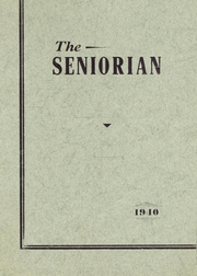 Groveton High School - Seniorian Yearbook (Groveton, NH) online yearbook collection, 1940 Edition, Page 1