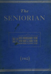 Groveton High School - Seniorian Yearbook (Groveton, NH) online yearbook collection, 1942 Edition, Page 1