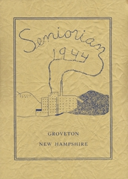 Groveton High School - Seniorian Yearbook (Groveton, NH) online yearbook collection, 1944 Edition, Page 1