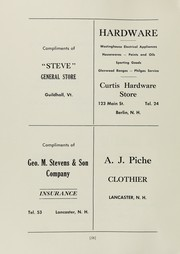 Page 58, 1947 Edition, Groveton High School - Seniorian Yearbook (Groveton, NH) online yearbook collection