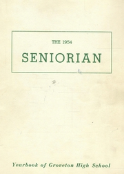 Groveton High School - Seniorian Yearbook (Groveton, NH) online yearbook collection, 1954 Edition, Page 1
