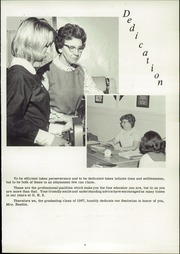 Page 9, 1967 Edition, Groveton High School - Seniorian Yearbook (Groveton, NH) online yearbook collection