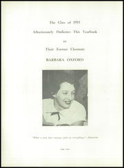 Page 6, 1955 Edition, Portsmouth High School - Clipper Yearbook (Portsmouth, NH) online yearbook collection