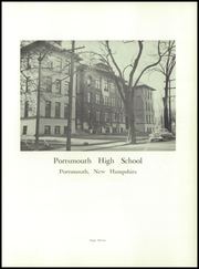 Page 7, 1955 Edition, Portsmouth High School - Clipper Yearbook (Portsmouth, NH) online yearbook collection