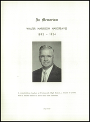 Page 8, 1955 Edition, Portsmouth High School - Clipper Yearbook (Portsmouth, NH) online yearbook collection