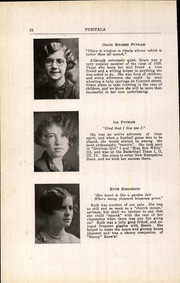 Page 56, 1926 Edition, Nashua High School - Tusitala Yearbook (Nashau, NH) online yearbook collection