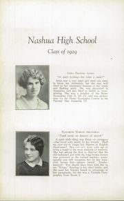 Page 16, 1929 Edition, Nashua High School - Tusitala Yearbook (Nashau, NH) online yearbook collection