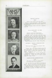 Page 16, 1938 Edition, Nashua High School - Tusitala Yearbook (Nashau, NH) online yearbook collection