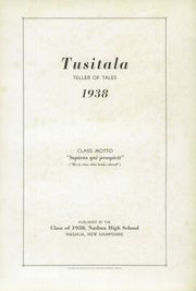 Page 5, 1938 Edition, Nashua High School - Tusitala Yearbook (Nashau, NH) online yearbook collection