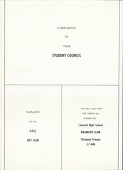 Page 150, 1965 Edition, Concord High School - Hustler Yearbook (Concord, NH) online yearbook collection